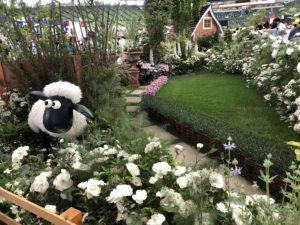 羊のショーンの庭