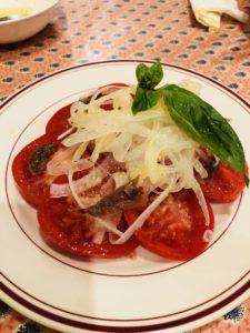 国分寺イタリアンのサラダ