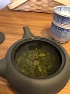 おすすめ急須で緑茶を淹れる