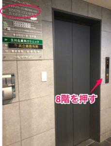 立川整体・たちかわ総合治療センターのアクセス