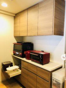 マンションのオプションおすすめ食器棚(カップボード)