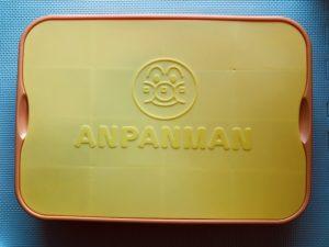 キネティックサンドのアンパンマン容器