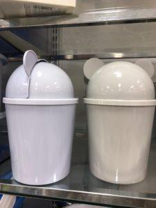 ダイソーフタ(蓋)付きゴミ箱
