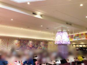 ピューロランドのレインボーワールドレストラン内装