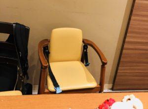 わらべの子供用の椅子