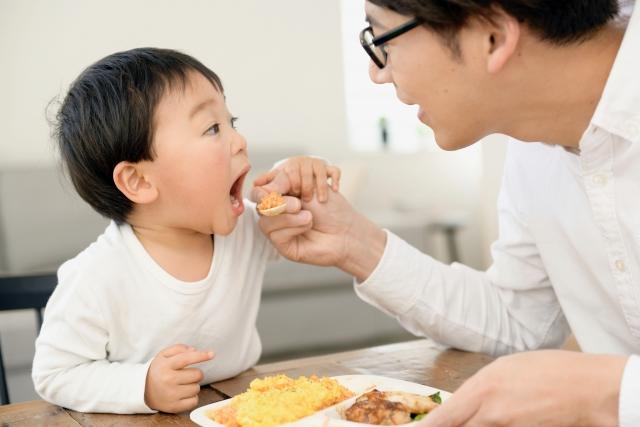 二歳児がご飯を食べない