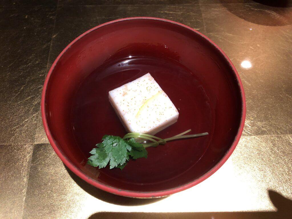 金沢白鳥路【ホテル山楽】の夕飯