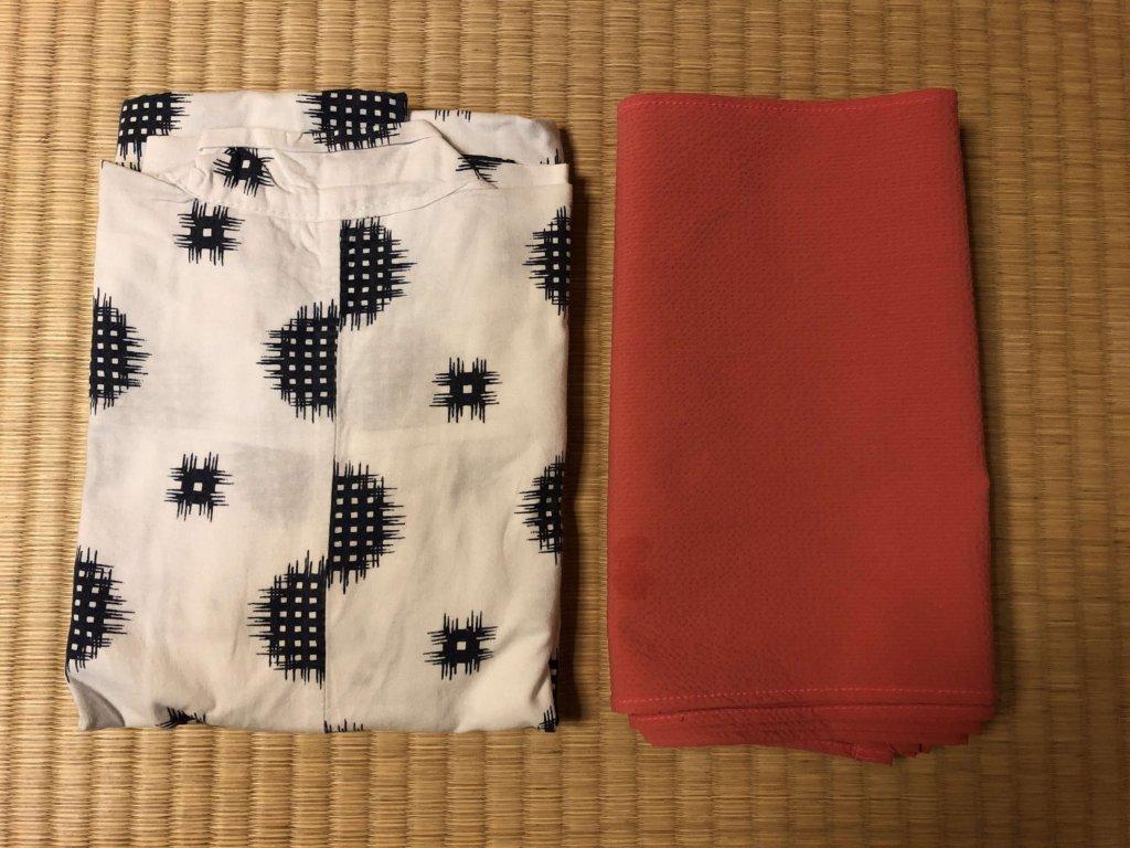 金沢白鳥路【ホテル山楽】の浴衣